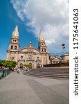 cathedral in guadalajara ...   Shutterstock . vector #1175641063