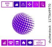 earth symbol   logo design | Shutterstock .eps vector #1175649970