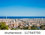 Cityscape of Barcelona. Spain. - stock photo