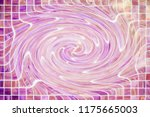 digital art colorful abstract... | Shutterstock . vector #1175665003