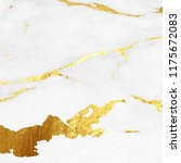 marble with golden texture wall ... | Shutterstock . vector #1175672083