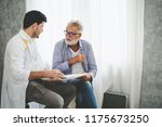 professional psychologist... | Shutterstock . vector #1175673250