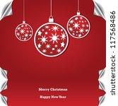 christmas background   Shutterstock .eps vector #117568486