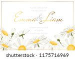wedding event invitation card... | Shutterstock .eps vector #1175716969