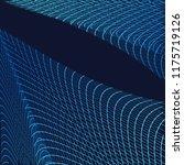 abstract communication network...   Shutterstock . vector #1175719126