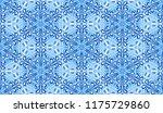seamless winter texture. frosty ...   Shutterstock .eps vector #1175729860