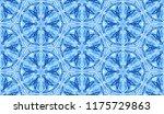 seamless winter texture. frosty ...   Shutterstock .eps vector #1175729863