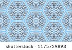 seamless winter texture. frosty ...   Shutterstock .eps vector #1175729893