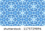 seamless winter texture. frosty ...   Shutterstock .eps vector #1175729896
