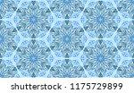 seamless winter texture. frosty ...   Shutterstock .eps vector #1175729899
