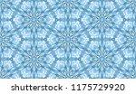 seamless winter texture. frosty ...   Shutterstock .eps vector #1175729920