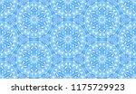 seamless winter texture. frosty ...   Shutterstock .eps vector #1175729923