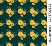 seamless vector ornamental... | Shutterstock .eps vector #1175733526