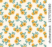 seamless vector ornamental... | Shutterstock .eps vector #1175733580