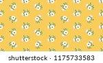 seamless vector ornamental... | Shutterstock .eps vector #1175733583