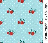seamless vector ornamental... | Shutterstock .eps vector #1175733586