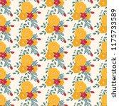 seamless vector ornamental... | Shutterstock .eps vector #1175733589