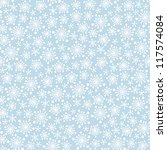 seamless blue pattern with... | Shutterstock .eps vector #117574084
