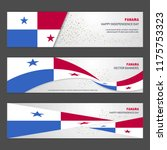panama independence day... | Shutterstock .eps vector #1175753323