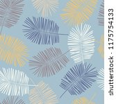 tropical seamless pattern with... | Shutterstock .eps vector #1175754133