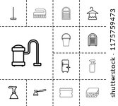 household icon. collection of... | Shutterstock .eps vector #1175759473