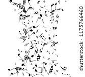 musical signs. modern... | Shutterstock .eps vector #1175766460