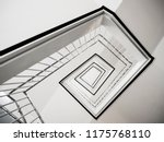 spiral staircase stair step... | Shutterstock . vector #1175768110