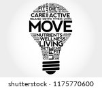 move bulb word cloud collage ... | Shutterstock . vector #1175770600