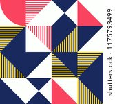 Simple Geometric Artwork With...