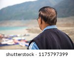 an indian old man looking away  ... | Shutterstock . vector #1175797399