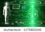 abstract background technology... | Shutterstock .eps vector #1175803240