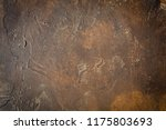 abstract brown chocolate... | Shutterstock . vector #1175803693
