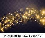 the dust is yellow. yellow... | Shutterstock .eps vector #1175816440