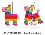 Mexican Pinata Horse With Candy....