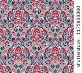 vector damask seamless pattern... | Shutterstock .eps vector #1175833300