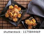 indian banana sauteed in pure... | Shutterstock . vector #1175844469