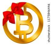 vector cryptocurrency bitcoin... | Shutterstock .eps vector #1175846446