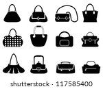 Bags Silhouettes Set