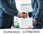 cropped image of multicultural... | Shutterstock . vector #1175867050