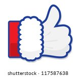 santa claus like icon vector | Shutterstock .eps vector #117587638