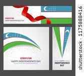 happy uzbekistan independence...   Shutterstock .eps vector #1175888416