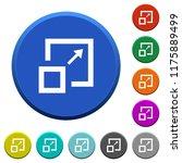 enlarge window round color... | Shutterstock .eps vector #1175889499