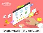 isometric flat vector concept... | Shutterstock .eps vector #1175899636