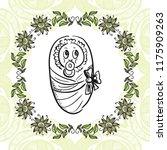 baby. vector illustration | Shutterstock .eps vector #1175909263