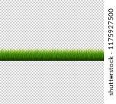 grass border transparent... | Shutterstock .eps vector #1175927500