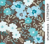 abstract flower seamless... | Shutterstock .eps vector #1175932969