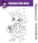 connect the dots children... | Shutterstock .eps vector #1175933086