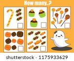counting educational activity... | Shutterstock .eps vector #1175933629
