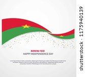 burkina faso happy independence ... | Shutterstock .eps vector #1175940139