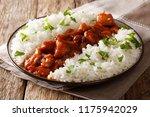 menu in rustic style  bourbon... | Shutterstock . vector #1175942029